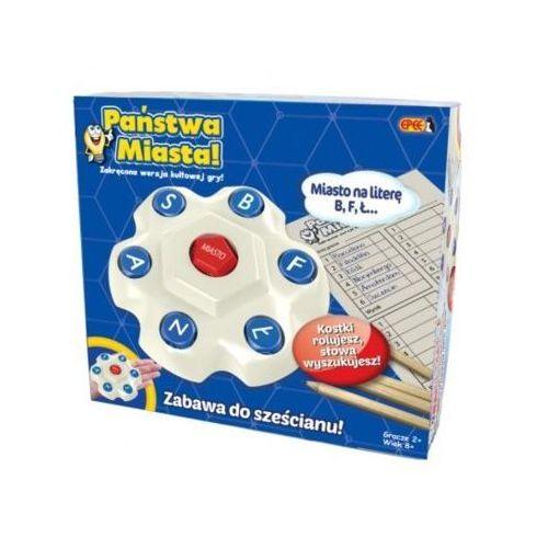 Gra państwa miasta - wersja kostkowa - darmowa dostawa od 199 zł!!! marki Epee