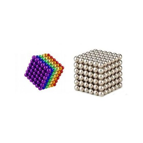 Kulki Magnetyczne Neodymowe NEOCUBE (średnica 5mm) 216szt. (2 wersje kolorystyczne).