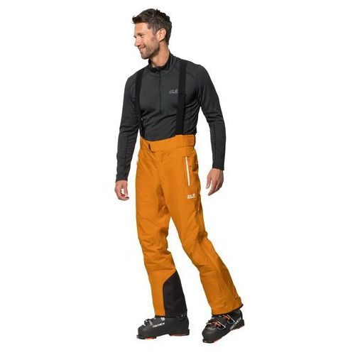 Spodnie narciarskie męskie EXOLIGHT MOUNTAIN PANTS M rusty orange - 50, 1112061-3115050