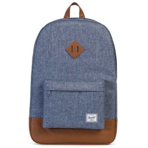 Herschel heritage plecak niebieski/czarny 2018 plecaki szkolne i turystyczne