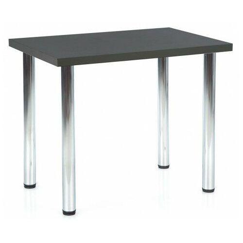 Antracytowy minimalistyczny stół - Mariko 2X