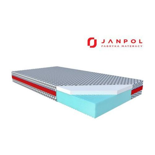 JANPOL PULSE ELEGANT - materac lateksowy, piankowy, Rozmiar - 160x200, Pokrowiec - Biox WYPRZEDAŻ, WYSYŁKA GRATIS (5906267404276)