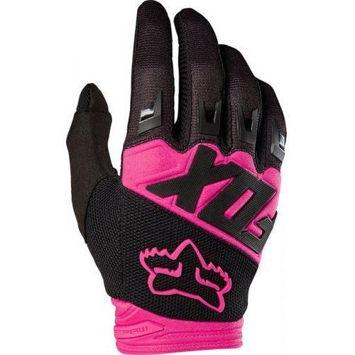 Fox junior dirtpaw race black/pink rękawice marki Fox_sale