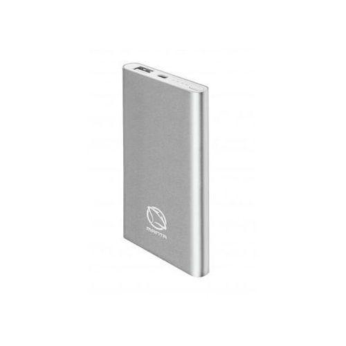 Powerbank MANTA MPB980S 8000 mAh Srebrny