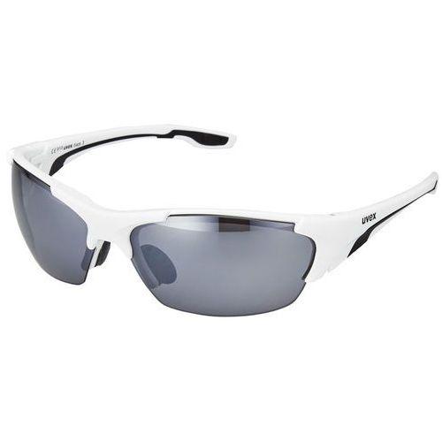 Uvex blaze lll okulary rowerowe biały okulary