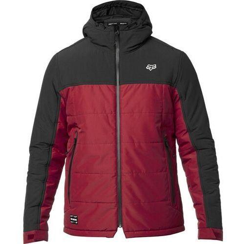 Fox Kurtka - harrison jacket black/red (017) rozmiar: m