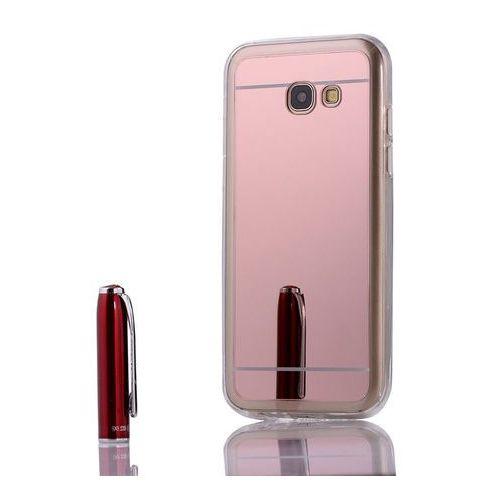 case różowy | etui dla samsung galaxy a3 2017 - różowy marki Slim mirror