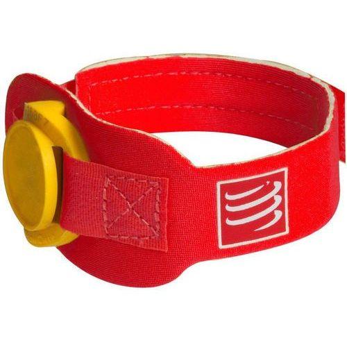 Compressport Timing Chipband czerwony 2017 Pasy do biegania (7640145324321)