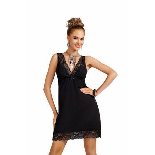 Koszula nocna model nadia black, Donna