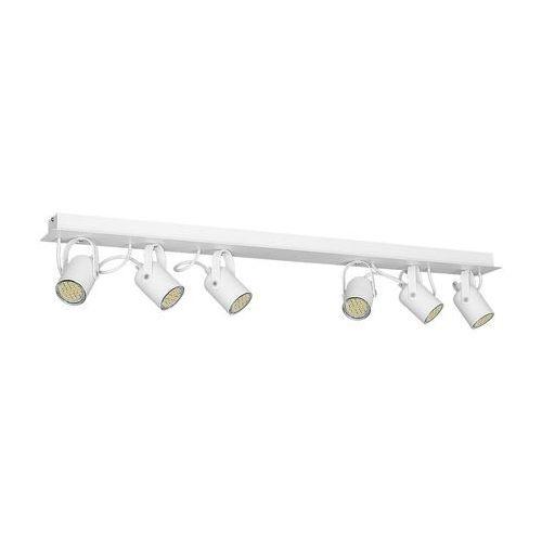 Plafon LAMPA sufitowa PICO MLP 993 Milagro natynkowa OPRAWA regulowana listwa biała, kolor Biały