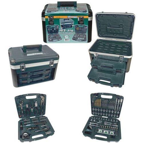 Brüder Mannesmann Zestaw narzędzi, 163 elementy, 29087 (4003315715757)
