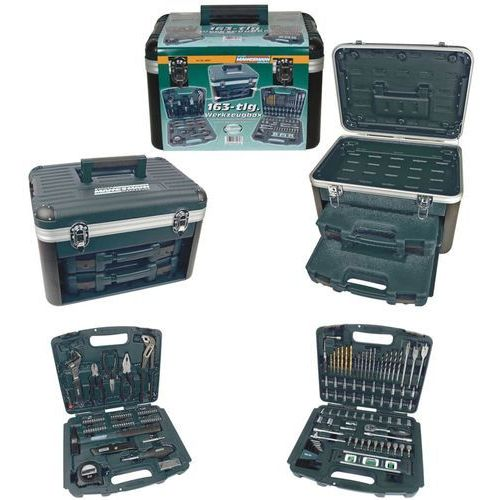 zestaw narzędzi, 163 elementy, 29087 marki Brüder mannesmann