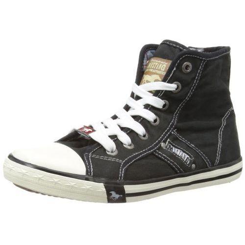 Mustang Booty 1099 – 502 damskie buty typu sneaker - czarny - 40 EU (4045492129712)