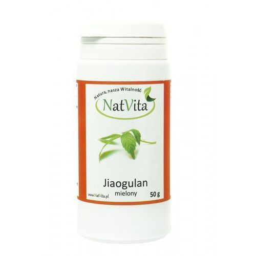 Jiaogulan Gynostemma mielony 50g NatVita - produkt z kategorii- Zdrowa żywność