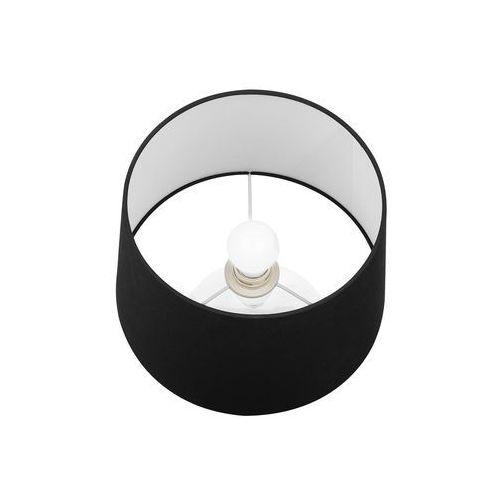 Beliani Lampa stołowa czarna osum (4260624117461)
