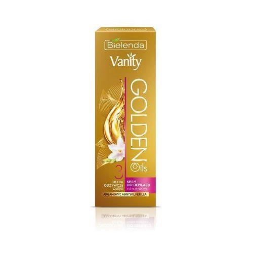 Bielenda, Vanity Golden Oils, krem do depilacji ultra odżywczy, 100 ml z kategorii Kremy do depilacji