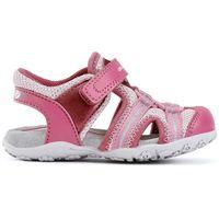 sandały dziewczęce roxanne 24 różowe marki Geox
