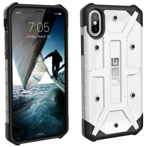 Etui urban armor gear pathfinder do iphone x biały marki Uag
