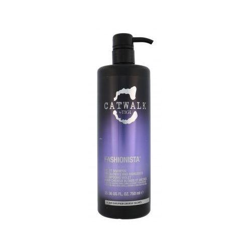 Tigi catwalk fashionista violet szampon do włosów 750 ml dla kobiet