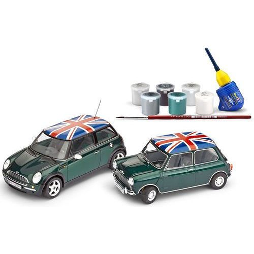 REVELL Mini Cooper Set Model do składania (4009803057958)