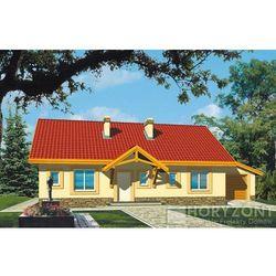Projekt GIENIA ENERGO+ WERSJA B Z GARAŻEM POJEDYNCZYM STROP DREWNIANY PALIWO S - produkt z kategorii- Projekty domów