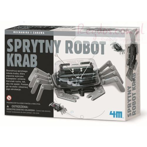 4m industrial development inc. Sprytny robot krab (4893156033574)