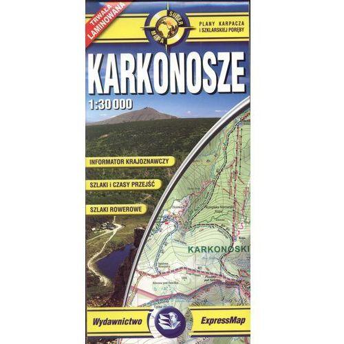Praca zbiorowa Karkonosze mapa turystyczna 1:30 000 (ISBN 9788388112447)