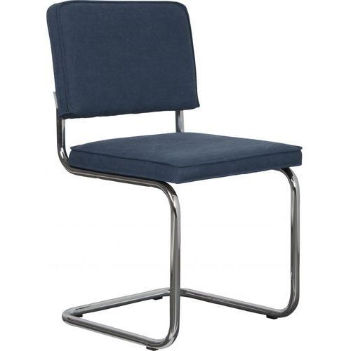 Zuiver krzesło ridge vintage niebieskie 1100104