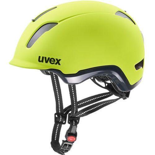 Uvex city 9 kask rowerowy, neon yellow 53-57cm 2019 kaski do e-rowerów (4043197312187)