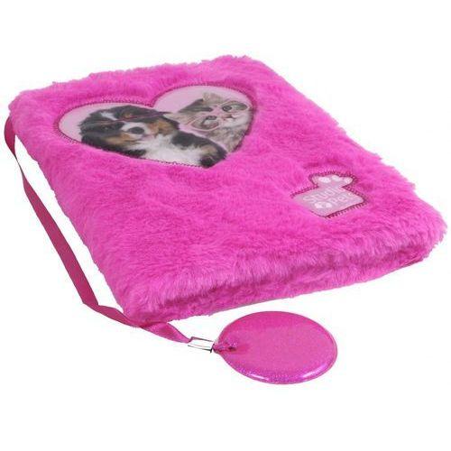 Pluszowy pamiętnik studio pets - paso. darmowa dostawa do kiosku ruchu od 24,99zł marki Paso