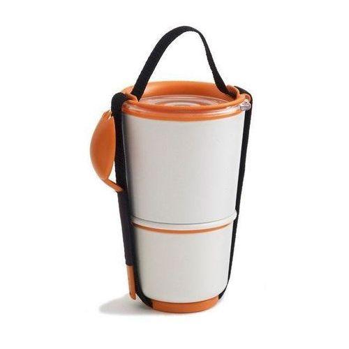 Pojemnik na lunch Lunch Pot biało-pomarańczowy (5060089720843)