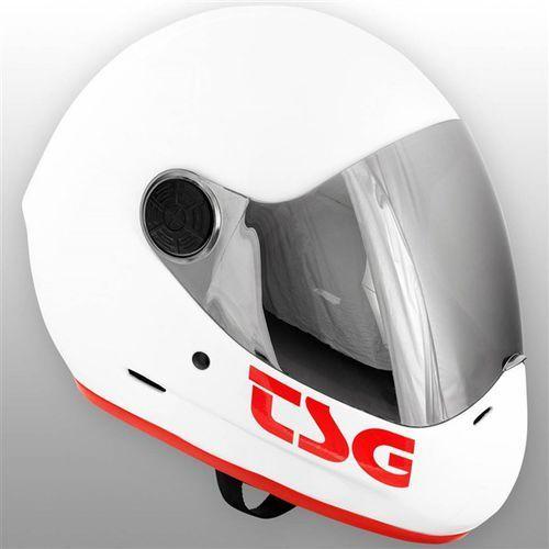 Tsg Kask - pass solid color gloss white (332) rozmiar: xl