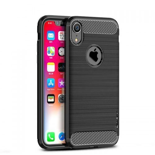 Etui Ipaky Drawing Carbon Iphone XR Czarne (7426825354778)
