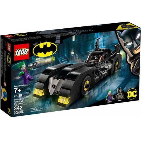 Lego SUPER HEROES Batmobile: w pogoni za jokerem 76119