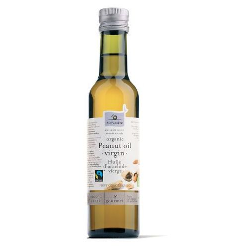 Olej z orzechów ziemnych FT Extra Virgin 250ml BIO - Bio Planete z kategorii Oleje, oliwy i octy