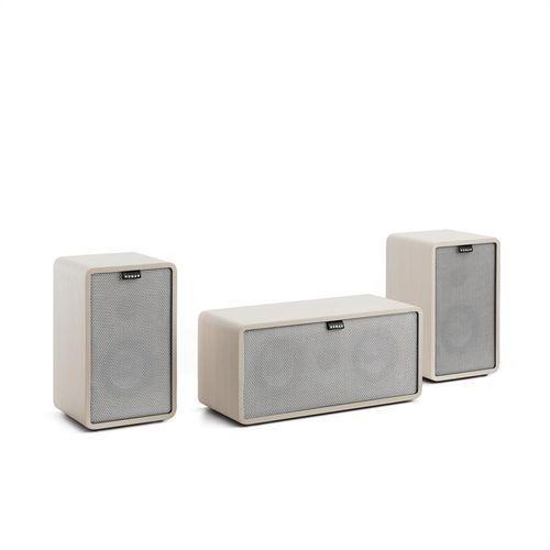 retrospective 1979-s 2.1 zestaw nagłośnieniowy elementy rozbudowy biały osłony szare marki Numan