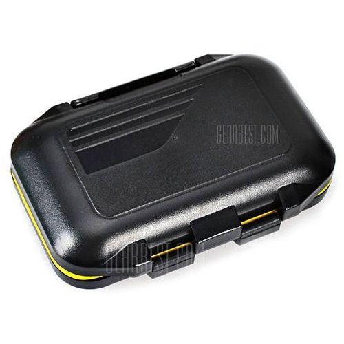 High Quality Waterproof Rock Fishing Box Fishing Tackle Case Set - Black