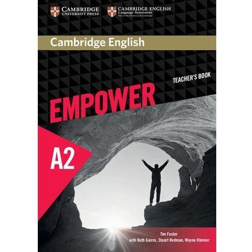 Cambridge English Empower Elementary Teacher's Book (9781107466449) - OKAZJE