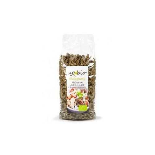 Makaron żytni z mąką z komosy ryżowej świderek 400g