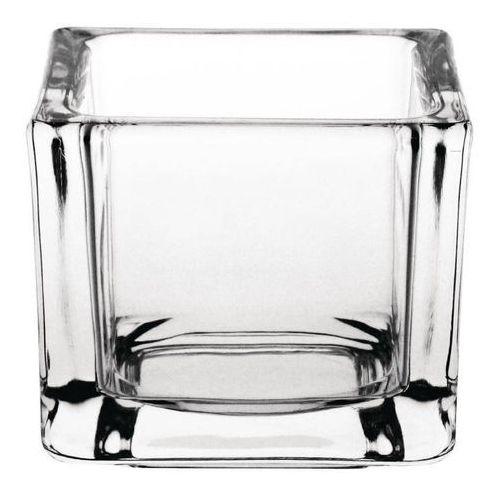 Świecznik szklany | 6 szt. | 6x6x(h)5cm marki Olympia