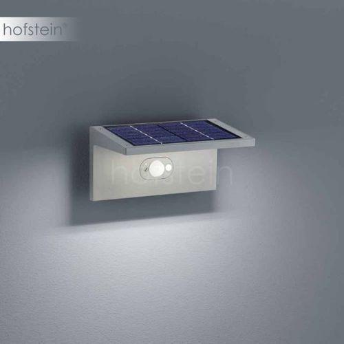 Helestra DRIFT-SOLAR zewnętrzny kinkiet LED Srebrny - - Obszar zewnętrzny - DRIFT-SOLAR - Czas dostawy: od 2-3 tygodni