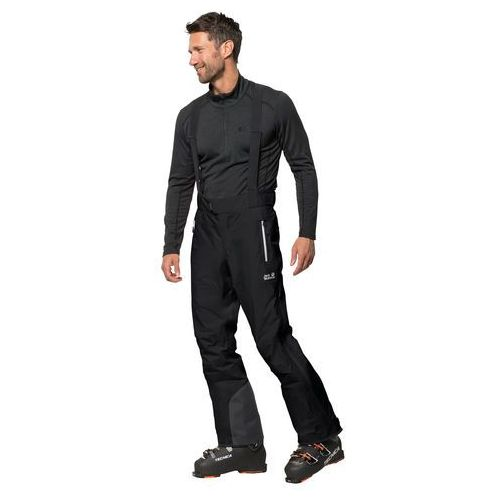 Spodnie narciarskie męskie EXOLIGHT MOUNTAIN PANTS M black - 54, 1112061-6000054