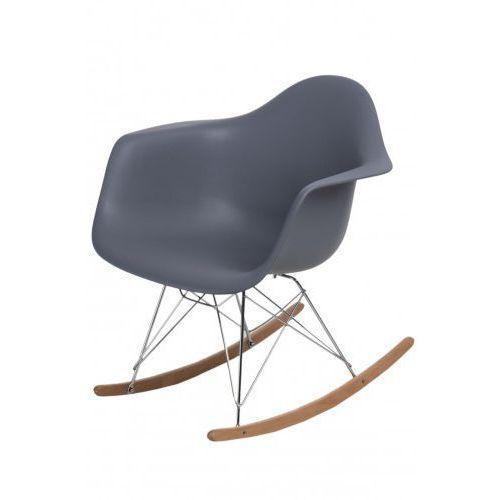 Krzesło bujane P018 RR PP insp. RAR (ciemnoszare) D2, d2-5091