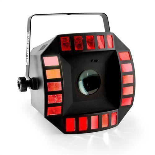 beamZ Cub4 II Efekt świetlny LED 2-w-1 Quad derby z Moonflower 64 diody LED RGBAW - produkt z kategorii- Zestawy i sprzęt DJ