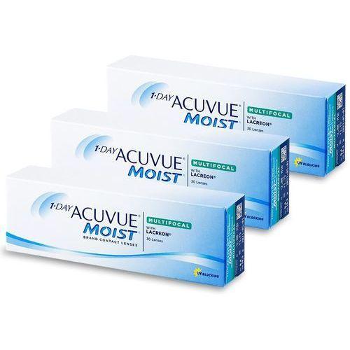 Johnson & johnson 1 day acuvue moist multifocal (90 soczewek)