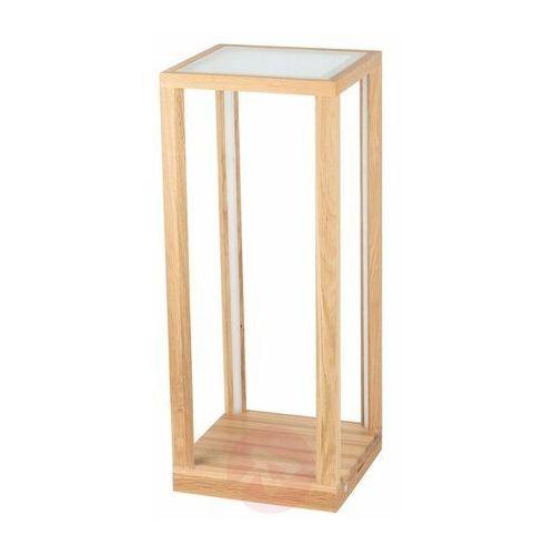 Tavoli Glass Stojąca Spot-Light 8882974 Drewno Dębowe/Szkło/Akryl, kolor Drewno
