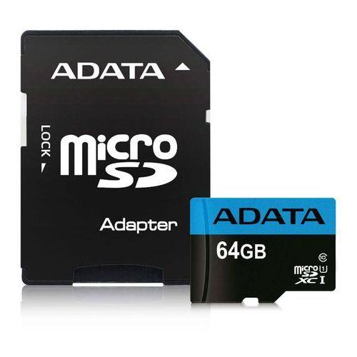 Adata microSD Premier 64GB UHS1/CL10/A1+adapter (4713218461933)