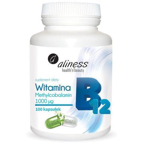 Kapsułki Witamina B12 Methylcobalamin 1000µg Aliness