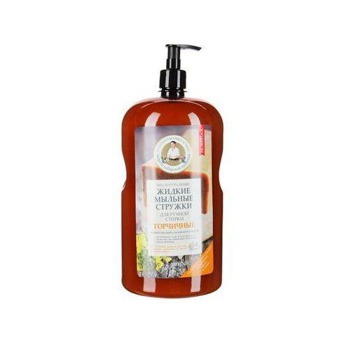 Receptury babuszki agafii Recepty babci agafii - 100% naturalne płynne wiórki mydlane do prania ręcznego - gorczycowe (4680019152998)