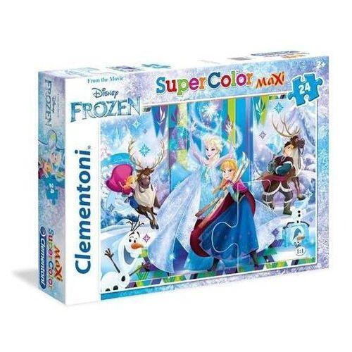 Clementoni Puzzle 24 maxi superkolor frozen
